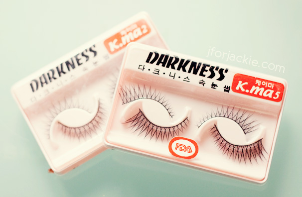 11 June 2013 - darkness fake eyelashes