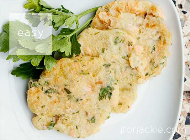 14 June 2013 - Salmon Potato Patties