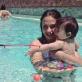 15 June 2013 - Piscina Quercegrossa with Daniela and family