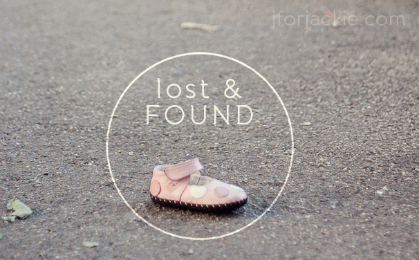 21 June 2013 - Lost shoe