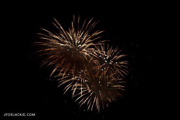 24 June 2013 - fireworks San Giovanni