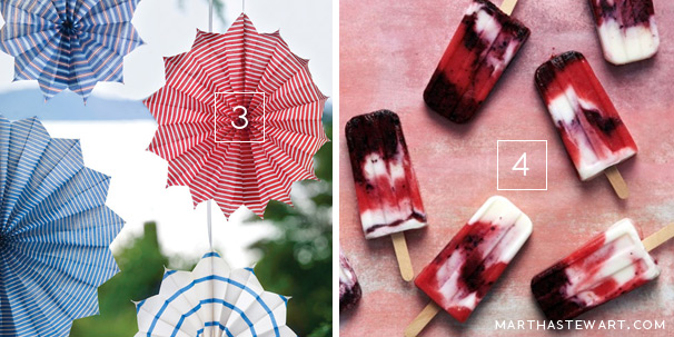 26 June 2013 - July 4th DIY decoration & inspiration