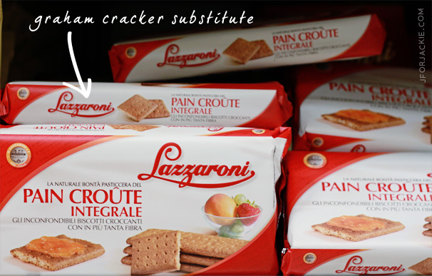 18 July 2013 - graham crackers in Italy