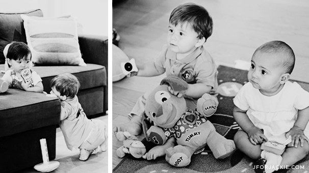 19 July 2013 - Play date with Matteo and Olivia