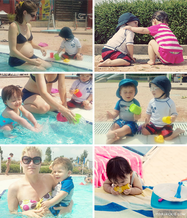 24 July 2013 - Pool playdate