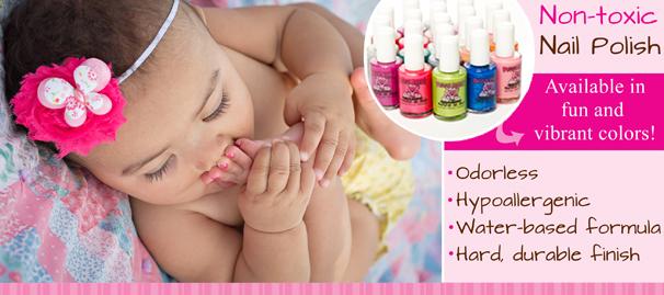 Piggy Paint Non-toxic Nail Polish for Children