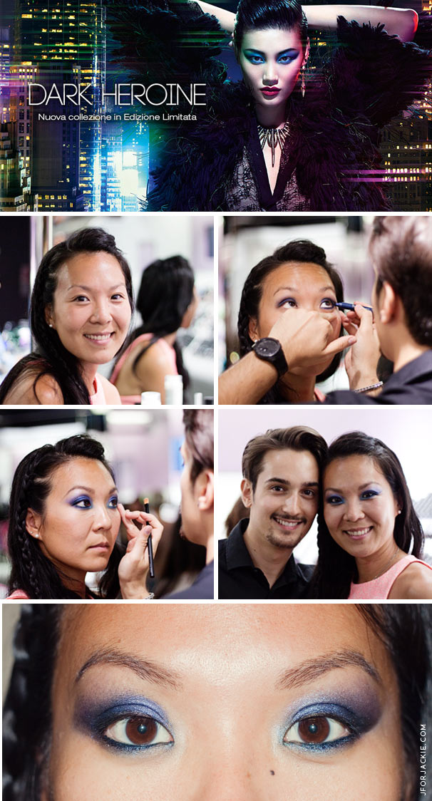 Vogue Fashion Night Out - Kiko Cosmetics Makeover with Mr. Daniel Makeup