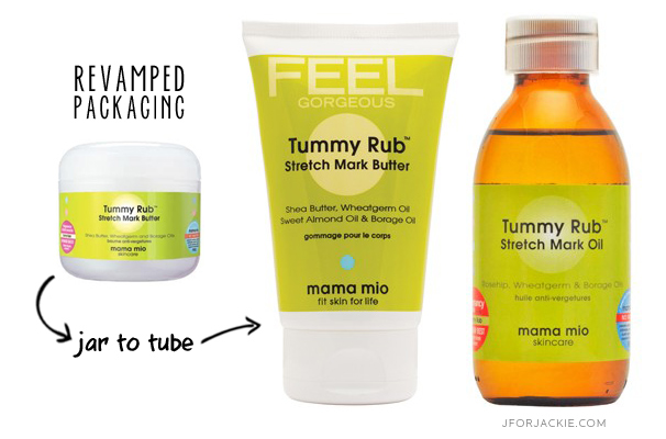 Prevent Stretch Marks with Mama Mio Products
