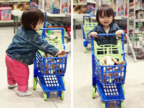 Mini Toy Shopping Cart at Upim