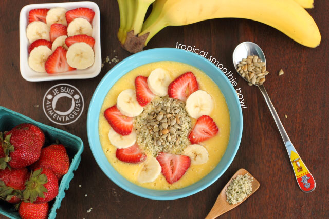 Tropical Smoothie Bowl - Alimnetageuse