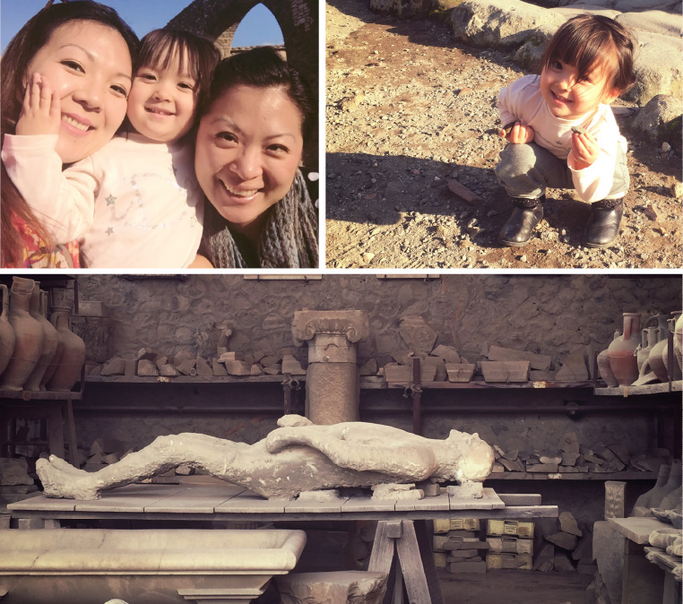 Visit Pompeii with Children